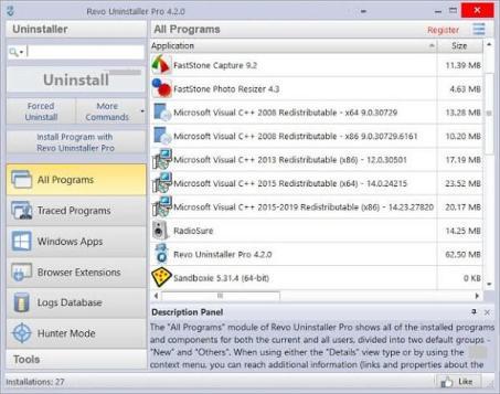 Revo Uninstaller Pro 4.3.7 Crack With Key Download Latest 2021
