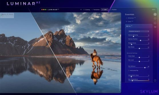 Luminar AI 1.0.0 (7261) Crack + Key 2021 Free Download Latest Version