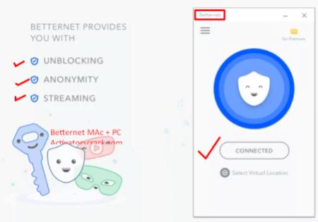 Betternet VPN 6.8.0.673 Crack 2021 + Full Version Download
