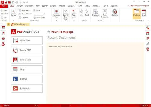 PDF Architect Pro + OCR 7.1.14.4969 Crack Full Version