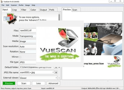 VueScan Pro 9.7.51 With Crack 2021 Free Download