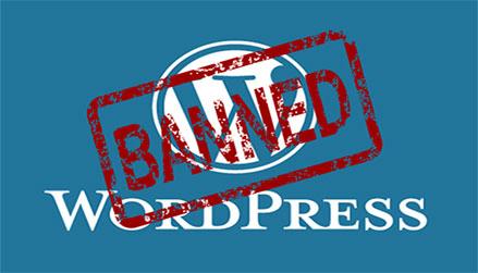 WordPress got banned in Pakistan