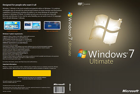 Windows 7 Ultimate ISO Download Free Full Version 32-bit 64-bit]