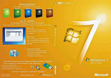 Windows 7 All in one ISO Free Download 32 / 64 Bit
