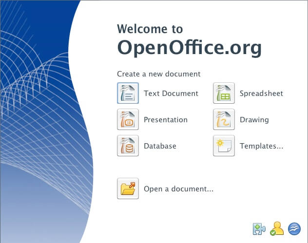 templates for openoffice resume