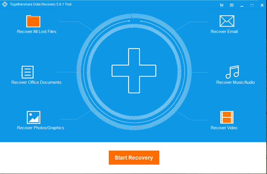 Togethershare- File recovery software 2015