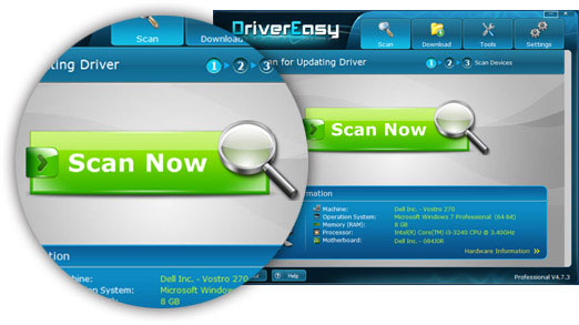 Driver Easy Step 1