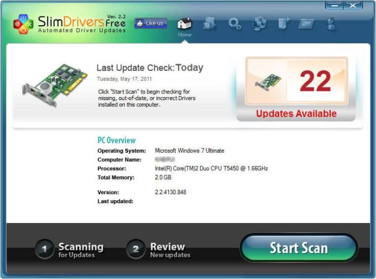 Slimdrivers Download V2.2