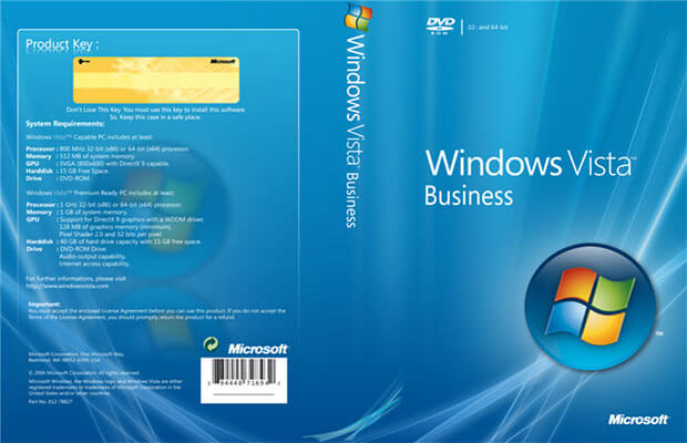 Windows Vista Business Download Free ISO (Professional)