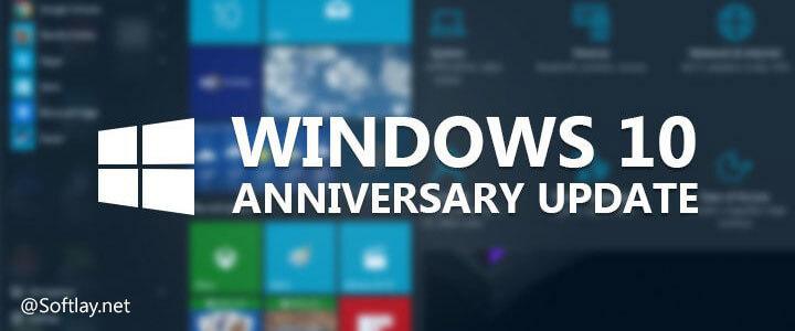 Windows 10 Anniversary Update ISO Download [ver. 1607] build 14393
