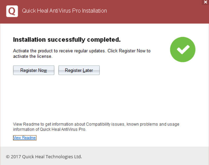 Quick heal antivirus free download