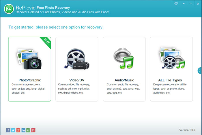 Free Photo recovery software 2018