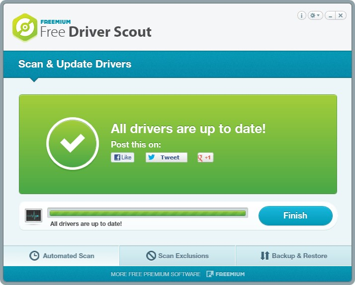 Free Driver Scout -driver update software
