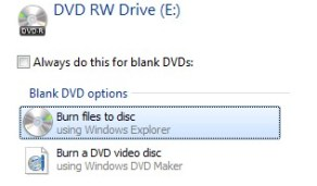 How To Burn a CD / DVD in Windows 7/8/10 (Complete Guide