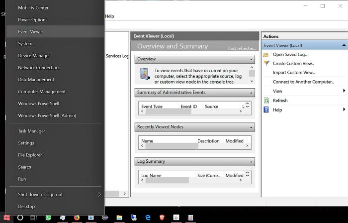 WMI Provider Host high cpu uage on windows 10
