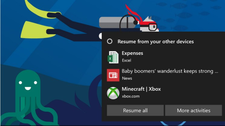 windows 10 shows more adds