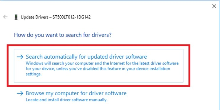 BSOD error on Windows 10