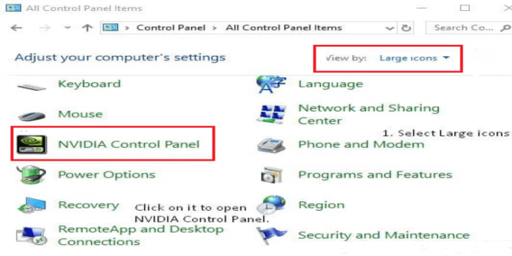 How to Find or Restore Nvidia Control Panel Missing in