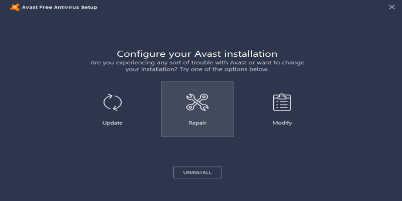 avast using too much disk