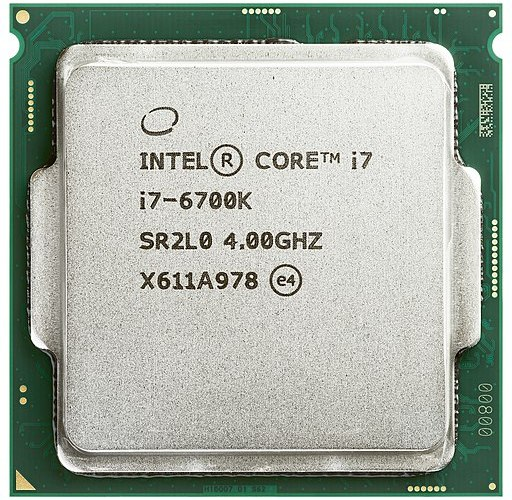 The CPU, Hard Drive and Memory