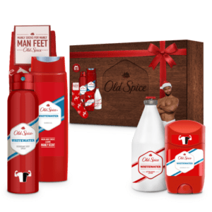 Old Spice Whitewater Wooden Box με 5 προϊόντα