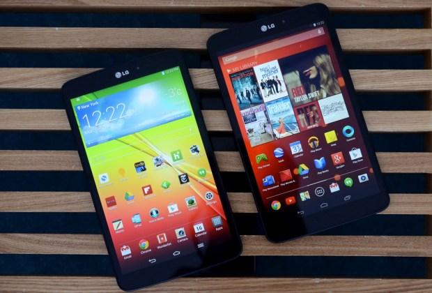 LG анонсировала новый планшет G Pad 2 8.0