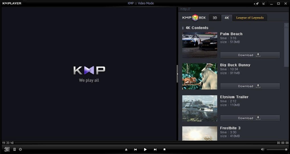 KMPlayer for Windows