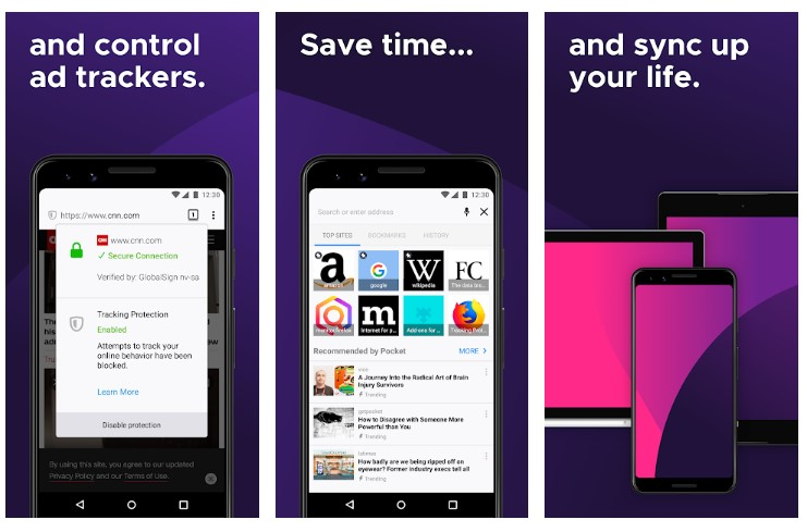 Mozilla Firefox APK for Android