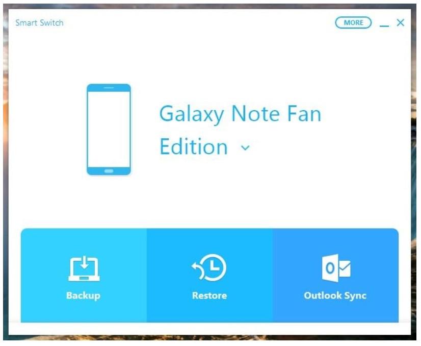 Samsung Smart Switch for Windows