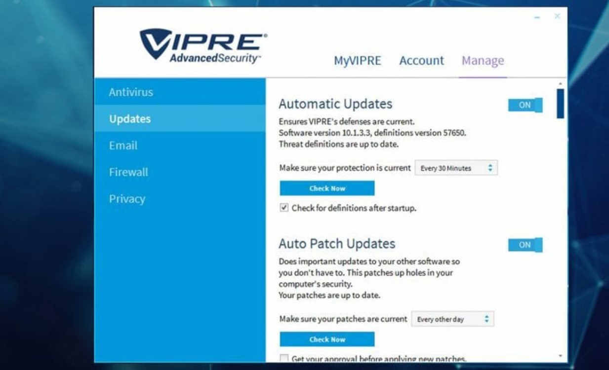 VIPRE Advanced Security for Windows