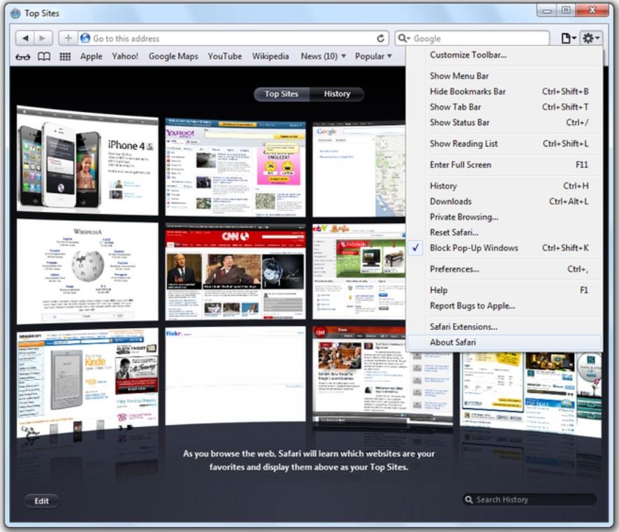 Safari Browser for Windows