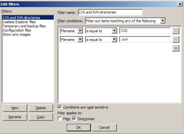 FileZilla for Windows