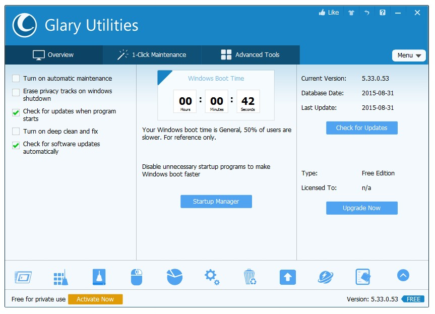 Glary Utilities for Windows