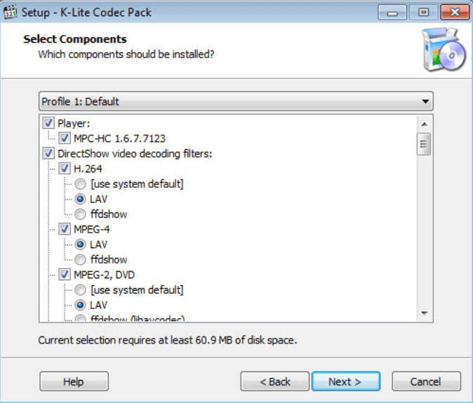 K-Lite Codec Pack Full for Windows