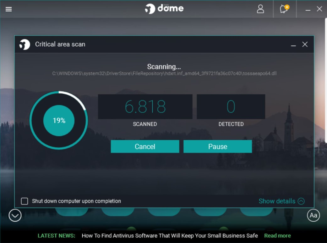 Panda Dome Antivirus for Windows