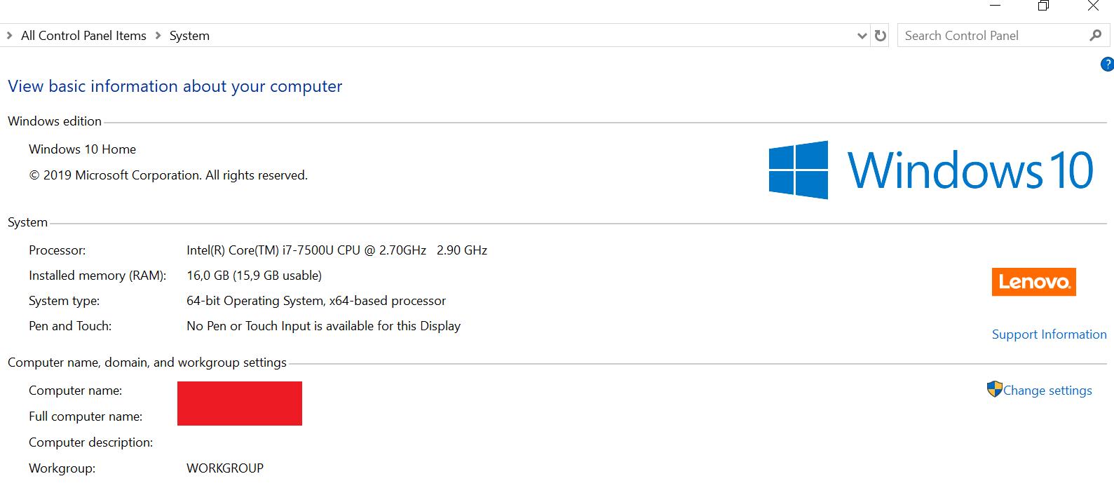 Windows 10 ISO Download Screenshot