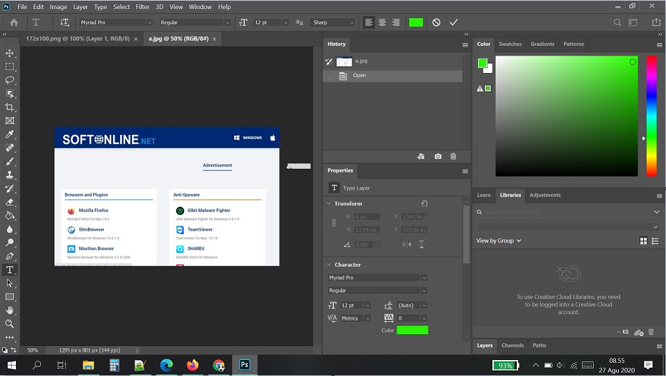 Adobe Photoshop CC 2021 for Windows