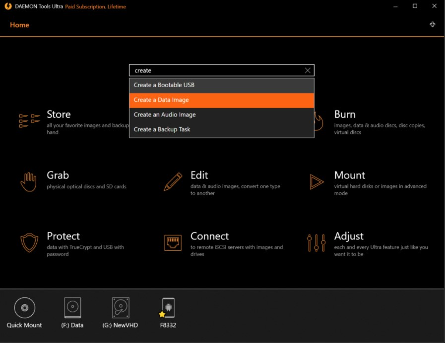 DAEMON Tools Ultra for Windows