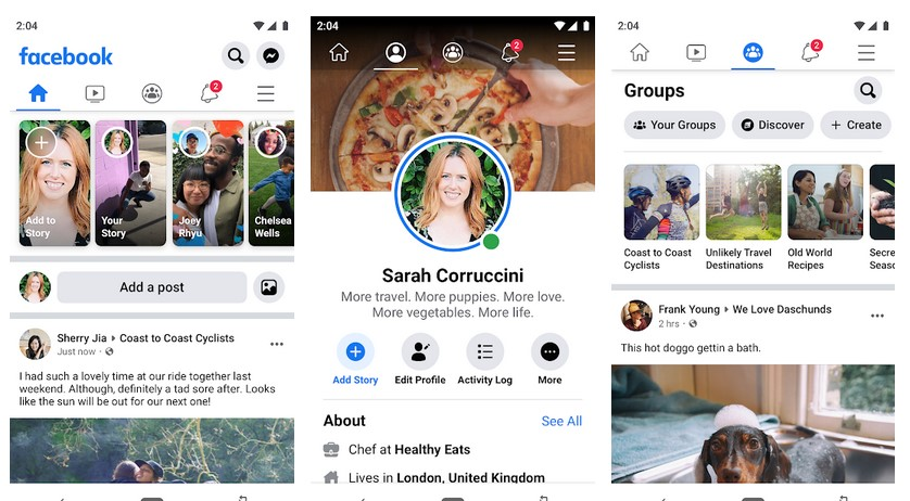 Facebook APK for Android