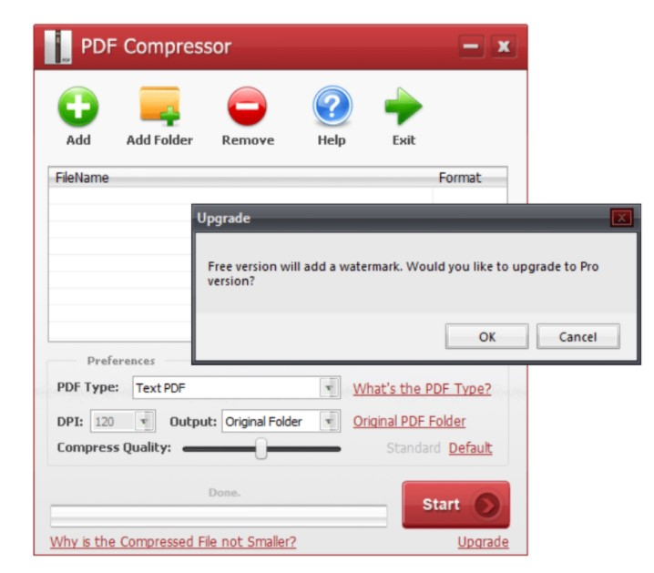 PDF Compressor for Windows