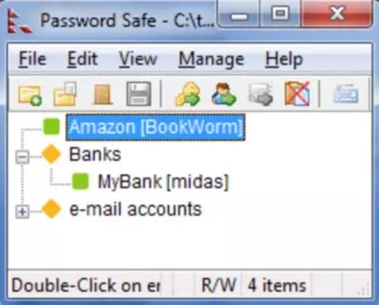 Password Safe for Windows