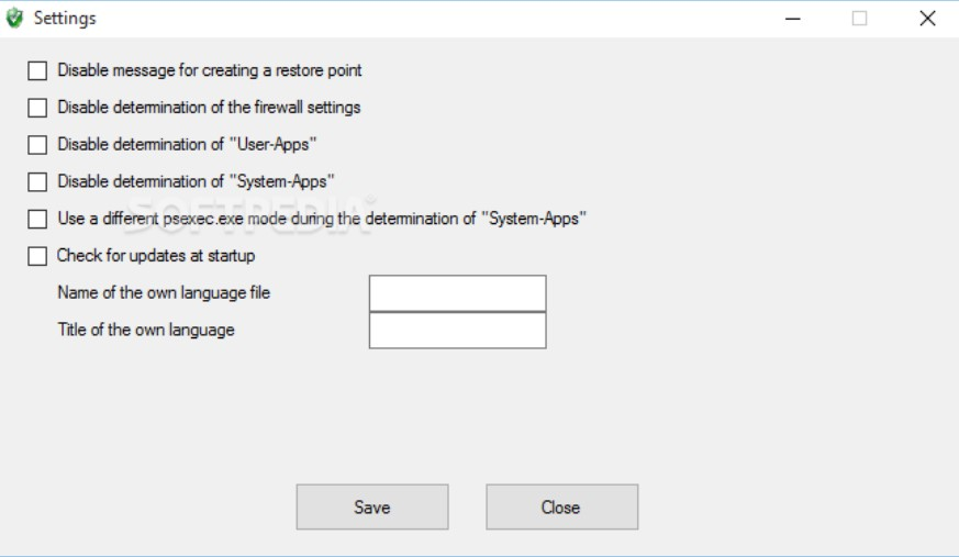 Here are some screenshots and Features of W10Privacy for Windows