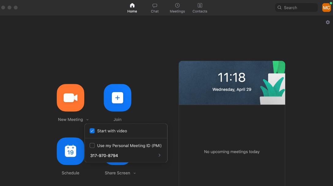 ZOOM Meetings for Mac