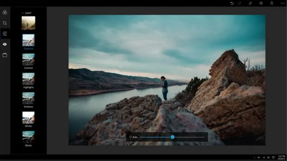 Here are some screenshots and Features of Adobe Photoshop Express
