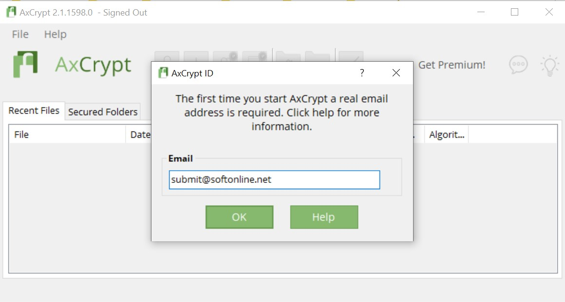 AxCrypt for Windows