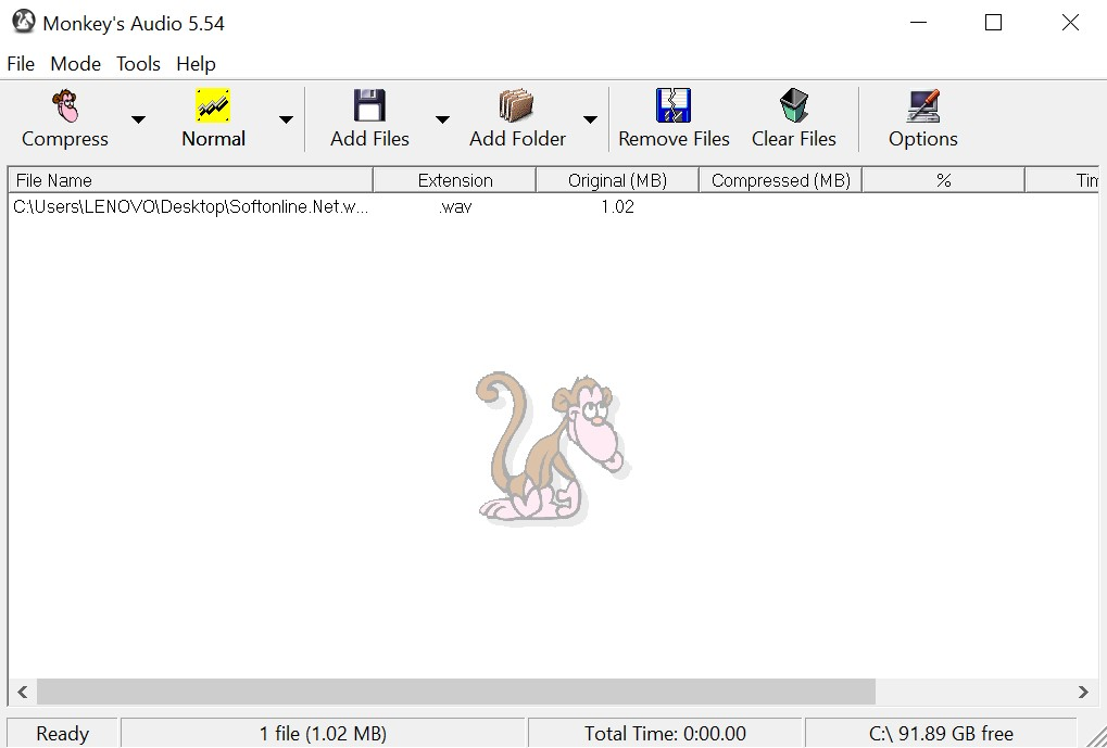 Monkey's Audio for Windows