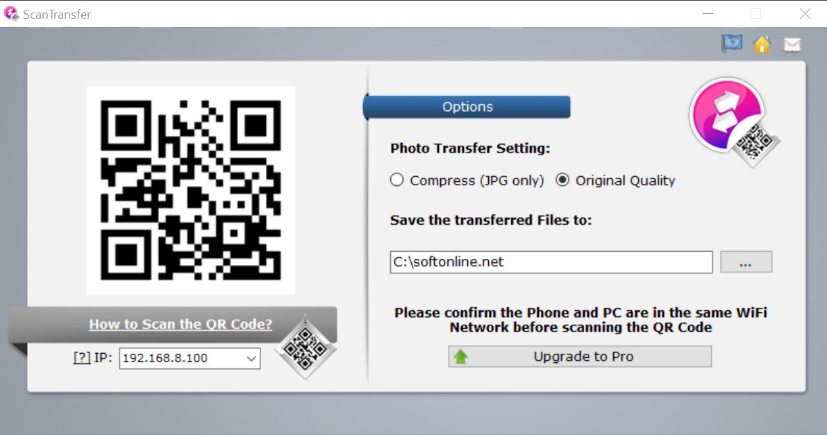 ScanTransfer for Windows