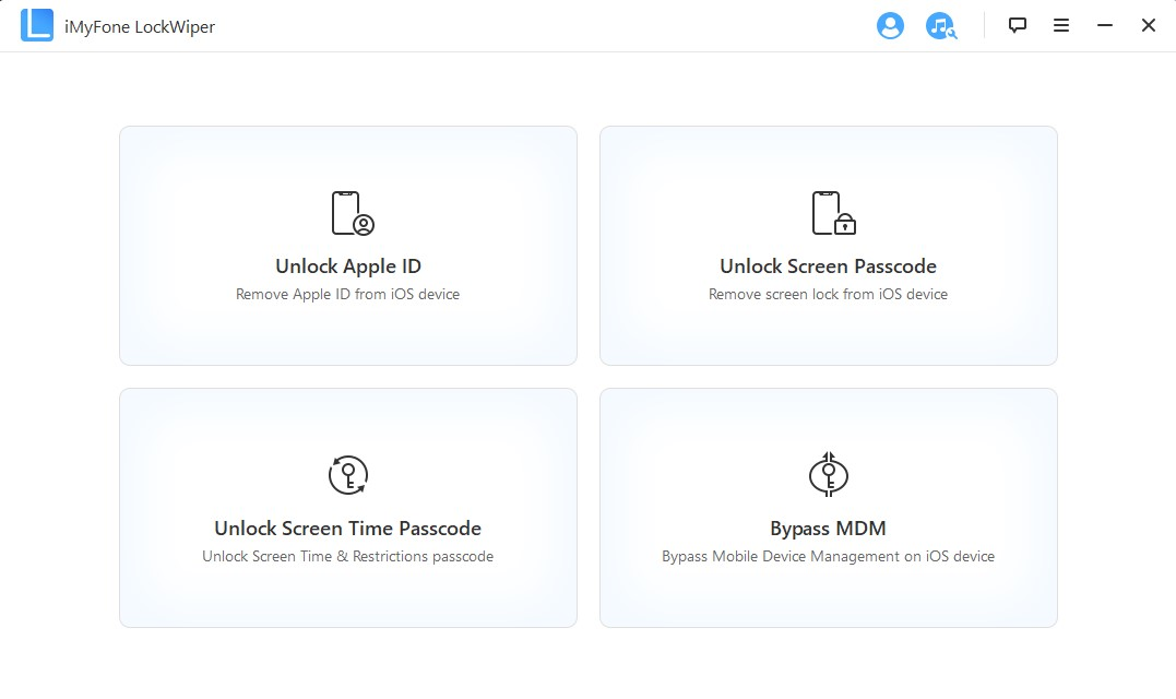iMyFone LockWiper for Windows