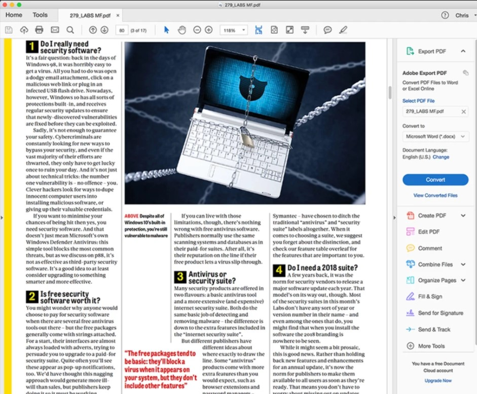 Adobe Acrobat Reader DC for Mac