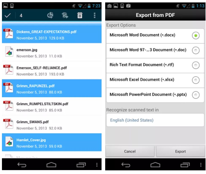 Adobe Acrobat Reader for Android